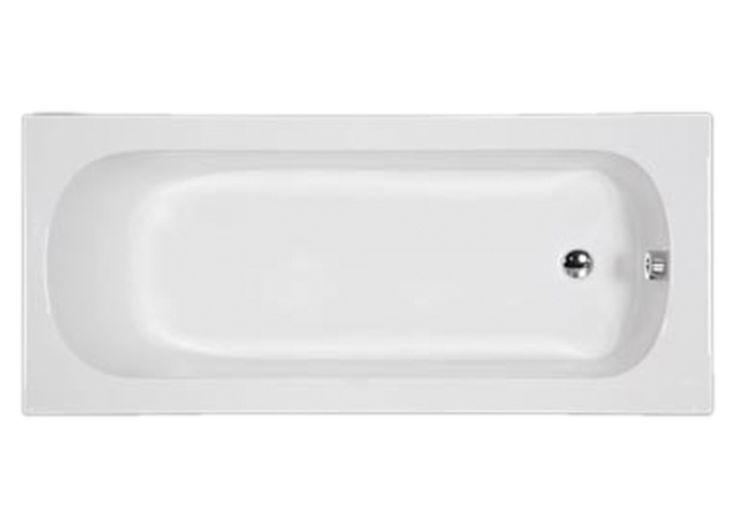 Optima 160x70 cm Shallow Bathtub