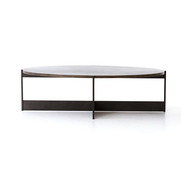 Living Room Shannon Oval Coffee Table Coffee Table Mid