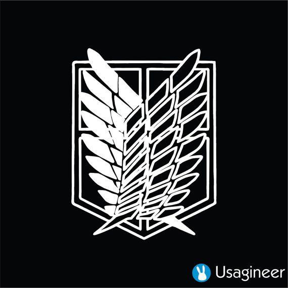 Shingeki aucun Kyojin attaque sur Titan n'ailes de par Usagineer