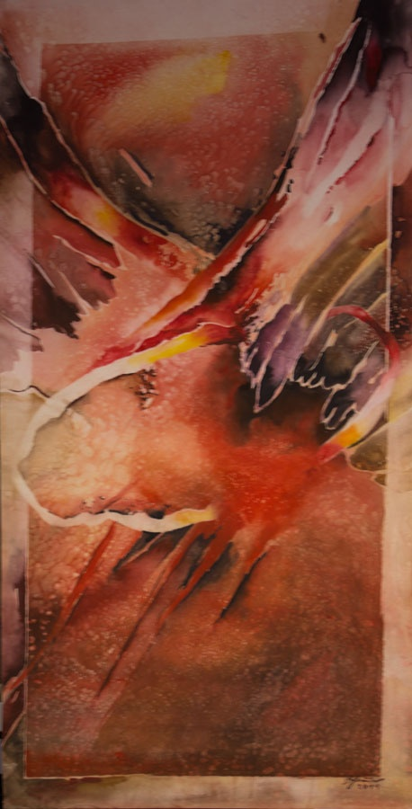 'Morning' by Benjaminas. Medium: Watercolour. Fine Art Supplier - Drai Fine Art.