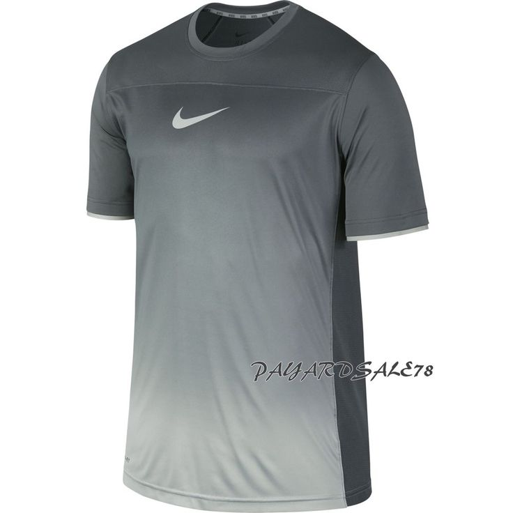 New style nike hyperspeed fade t-shirt dri-fit wolf gray zoned cooling mesh  men