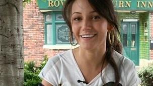 Coronation Street: Michelle Keegan as Tina McIntyre