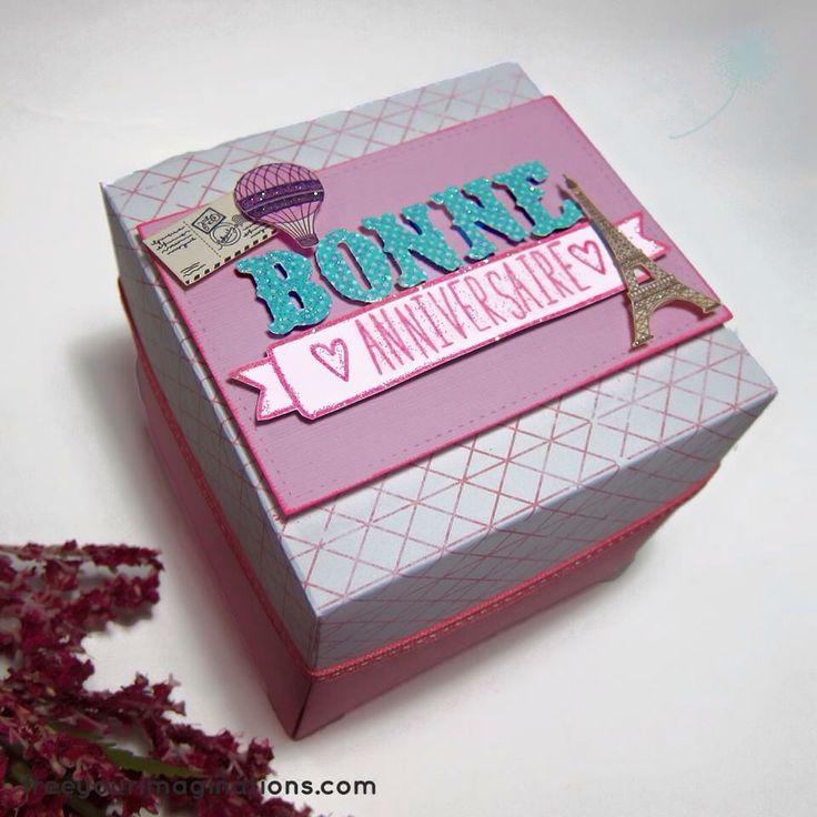 Pink explosion box