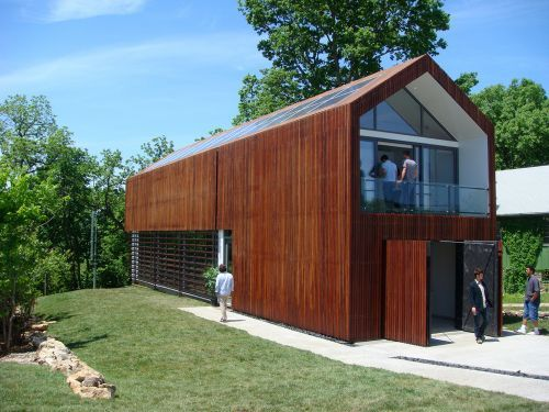 3716 Springfield House by Studio 804, LEED Platinum and Off the Grid - rainscreen