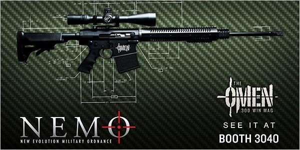 Nemo omen world s first 300 win mag ar ammunition guns bad ass guns