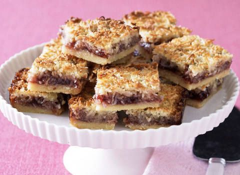 Strawberry Coconut Slice Better Homes And Gardens