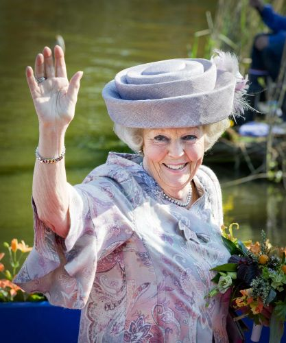 Princess Beatrix, April 26, 2014 in Suzanne Moulijn | The Royal Hats Blog