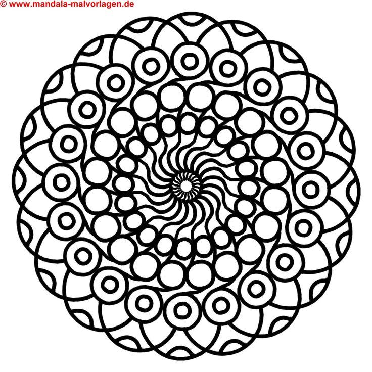 ausmalbilder mandala
