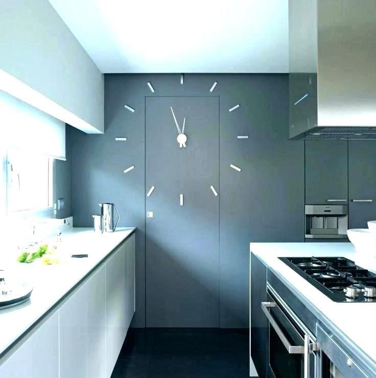 Large Clock On Door And Wall Kitchen Clocks Kitchen Wall Clocks