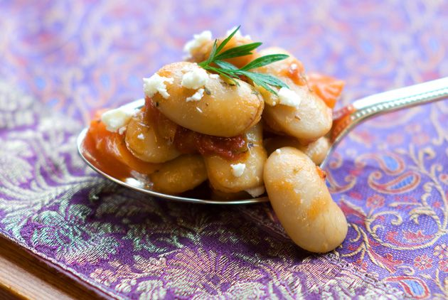 Fasolia Gigantes Plaki: Big Greek Beans baked in a Bodacious Red Sauce | Sortachef