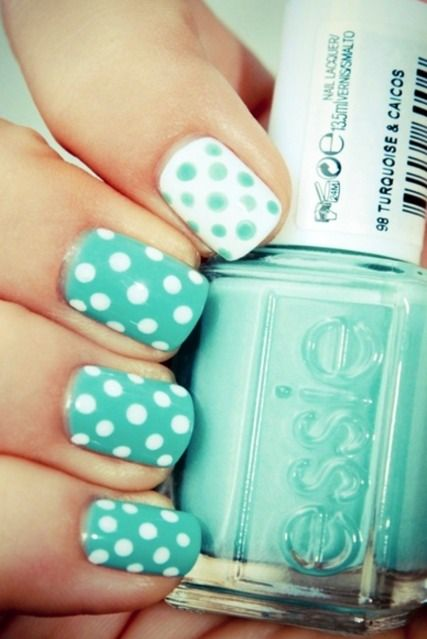 Mint. Cute for toenails in the summer!