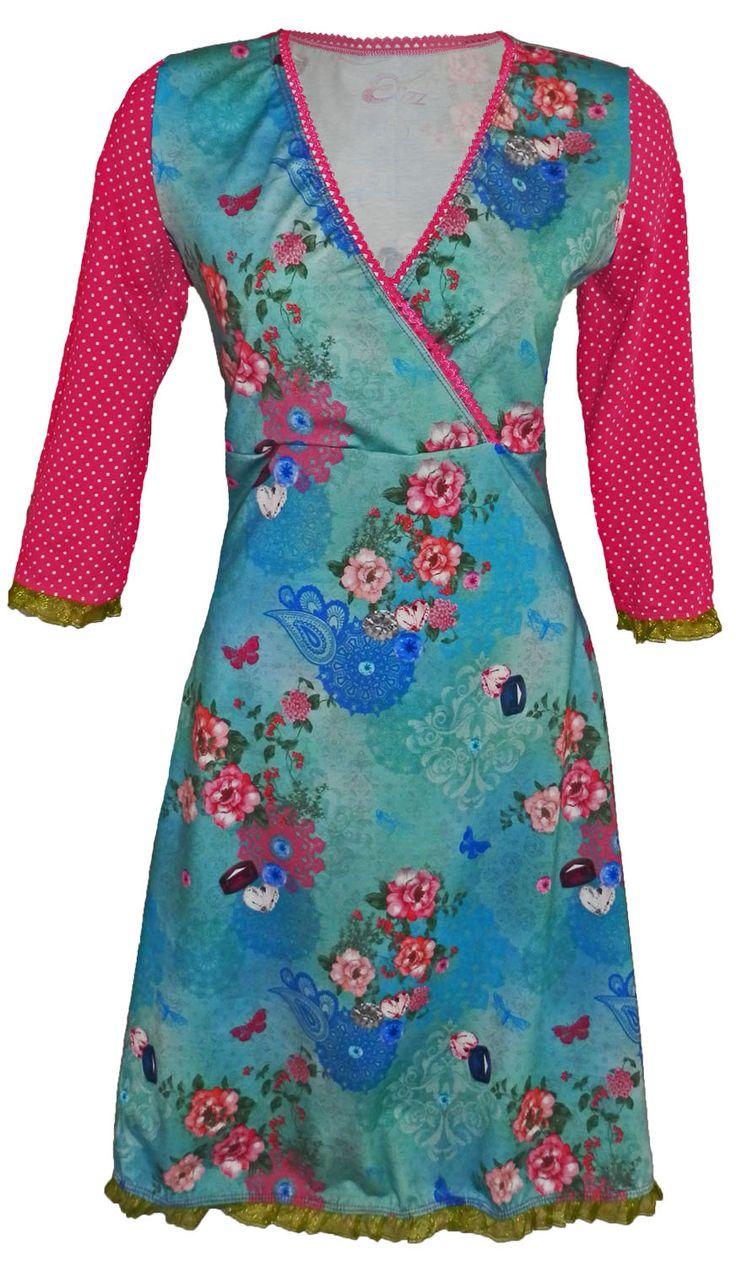 Romantic- romantische jurk: Elizz maat 34 t/m 52