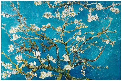 Pintando sonrisas de colores: Almendro en flor. Van Gogh