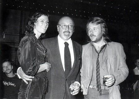 """Frida,Benny and Frida's father Alfred Hasse. Benny: """"Take your hand off my girl!"""""""