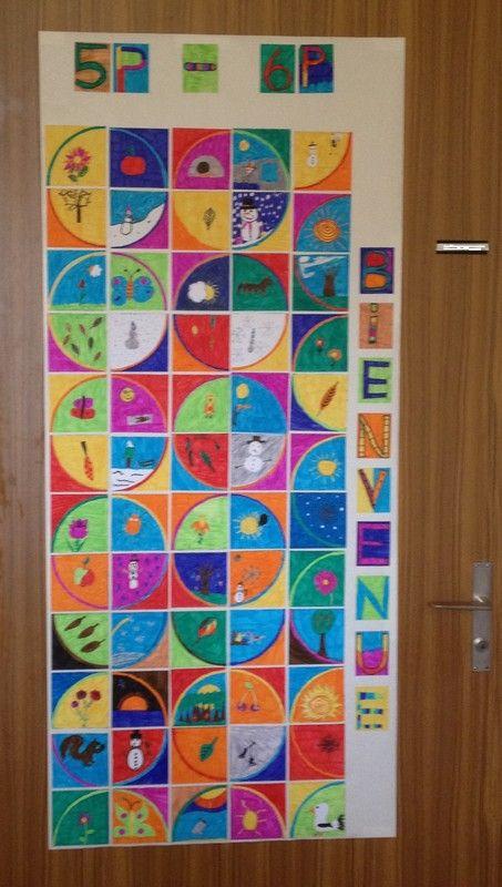 D coration de la porte de la classe porte de classe pinterest photos a - Decoration porte de chambre ...