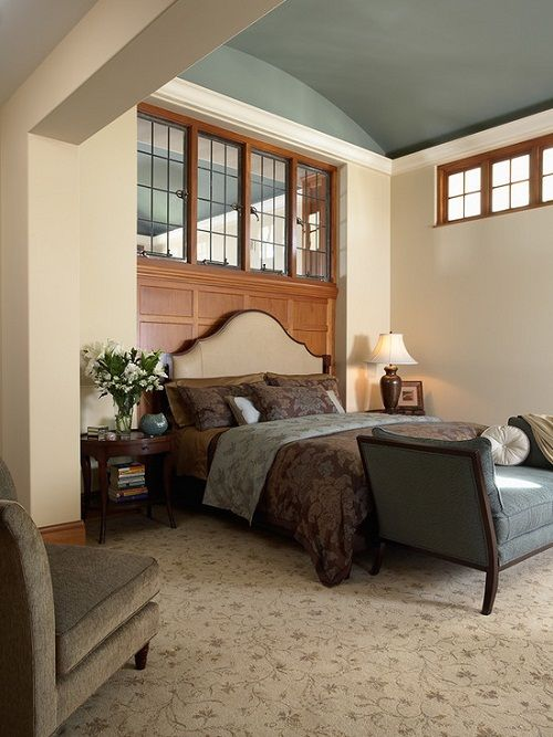 28 best unusual window shapes images on pinterest shaped for Peaceful master bedroom designs