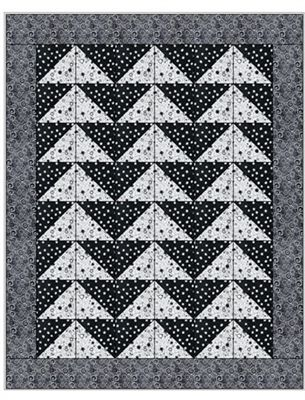 FLYING GEESE 3 YD QUILT PATTERN