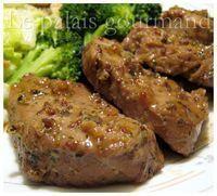 Le palais gourmand: Filet de porc délicieux