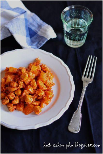 Katucikonyha: Csirkés brassói a sütőből