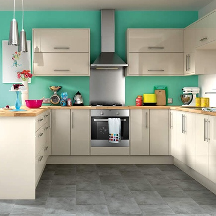 The 35 best images about cream gloss kitchens on pinterest for Kitchen 0 finance wickes