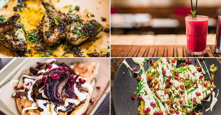 Bababoom  With a focus on succulent kebabs, coal-grilled sides and soft…