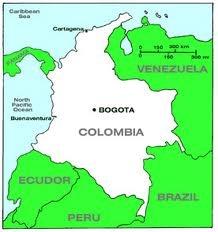 Bogotá es la capital de Colombia.