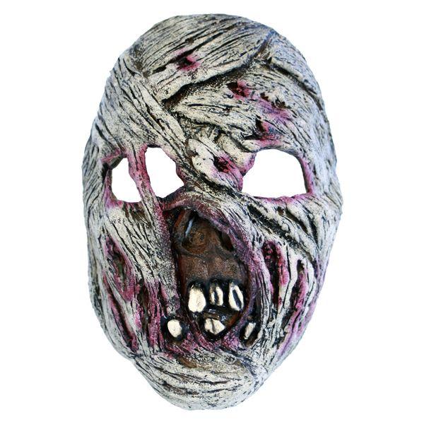 Blodig Mumiemaske - Skumle halloween masker