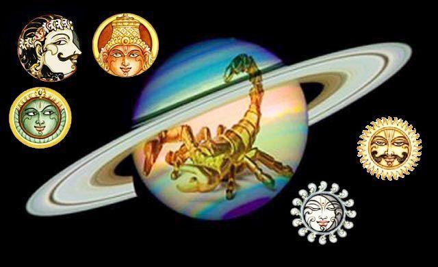 Planets influencing Taurus Scorpio June 2016