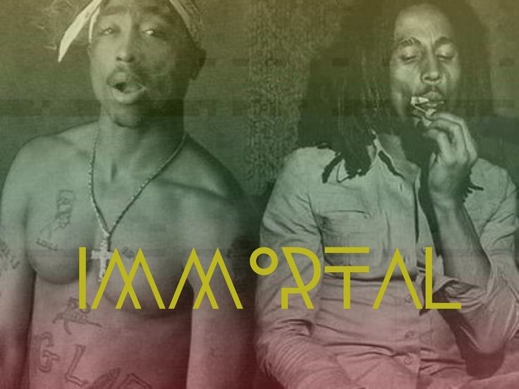 Immortal Tupac Bob Marley Artists I Love Reggae Bob