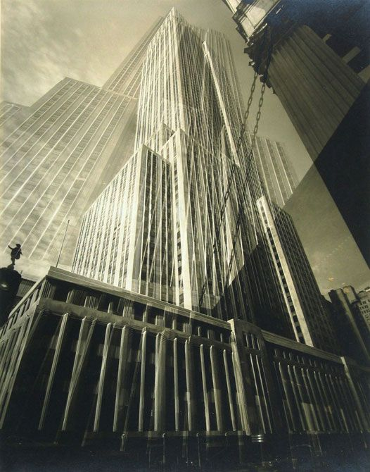 Inspirational Imagery: New York City, shot by Edward Steichen The Maypole - the Empire State Building 1932