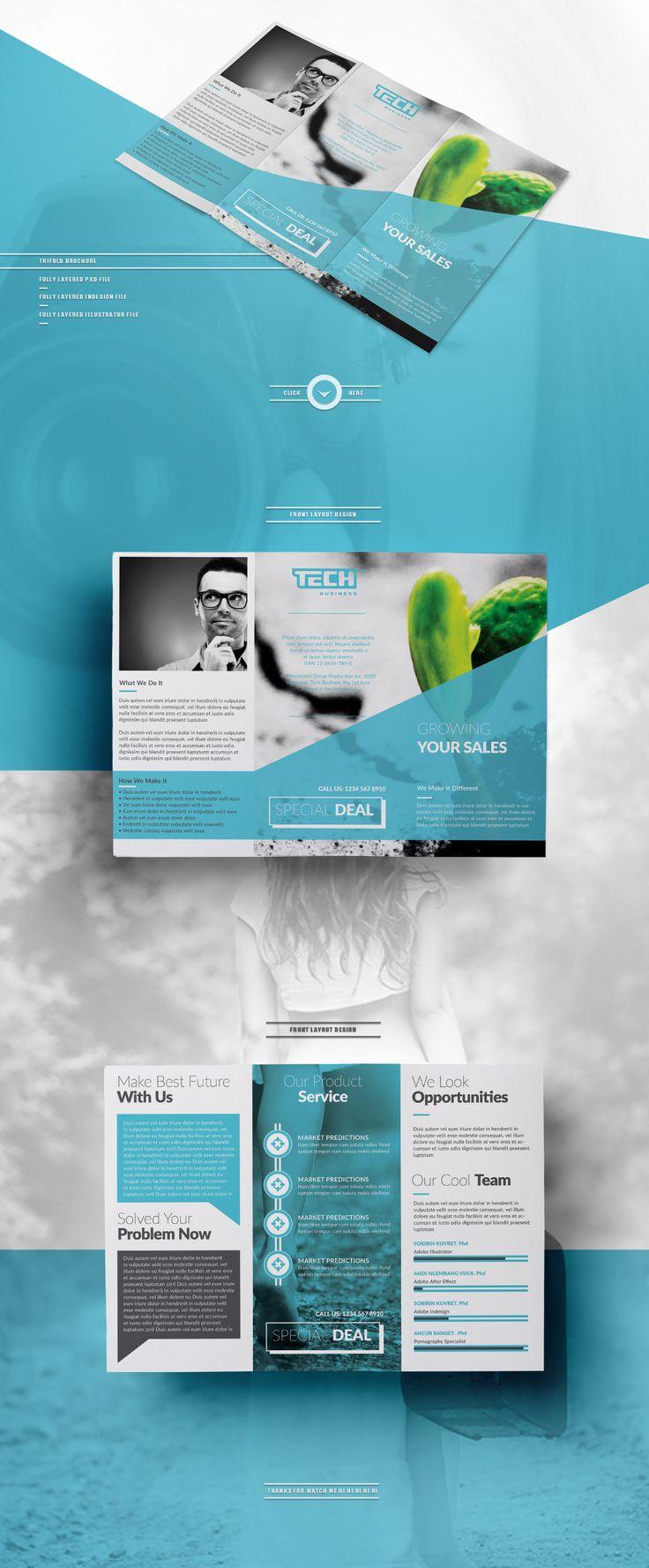 20 best DL Brochure Design images on Pinterest | Brochure design ...