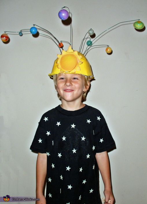The Solar System - 2014 Halloween Costume Contest via @costume_works