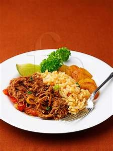 Cuban food dishes