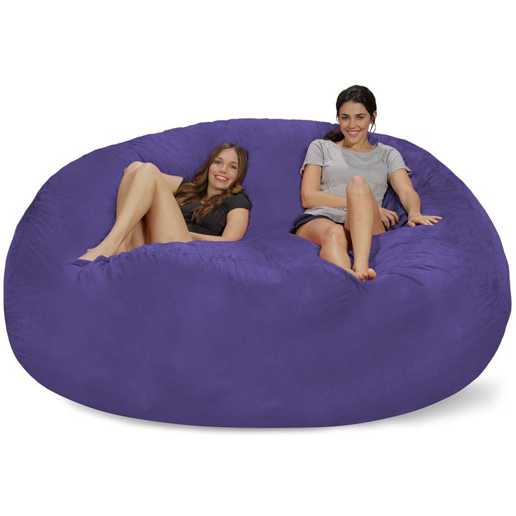 Extra Large Microsuede Bean Bag Sofa