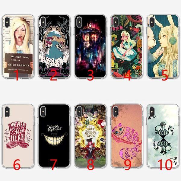 coque iphone 7 alice aux pays des merveilles   Alice in wonderland ...