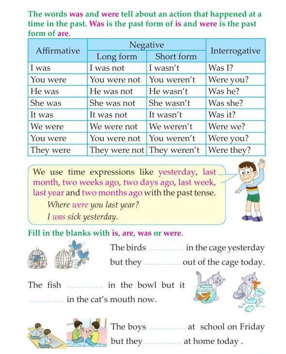 Good Grammar 3rd Grade Grammar Past Tense Was And Were Good Grammar English Poems For Kids Grammar Posters 3rd grade verb tense worksheets