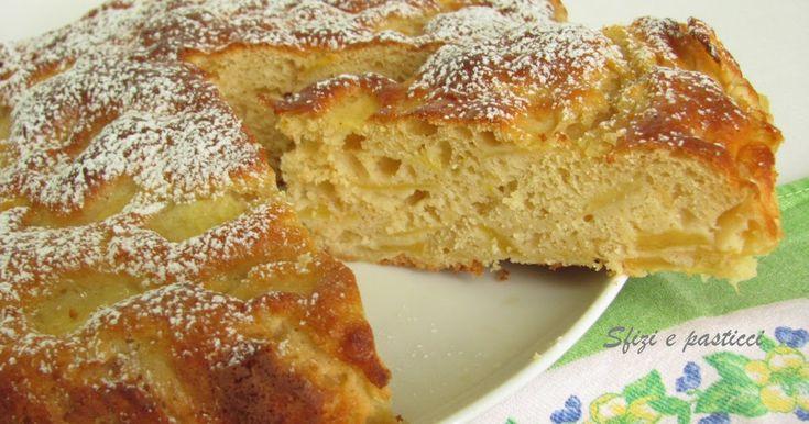 Una torta di mele decisamente più leggera, vista l'assenza di grassi come il burro, ma egualmente gustosa, insomma un peccato di gola che ...