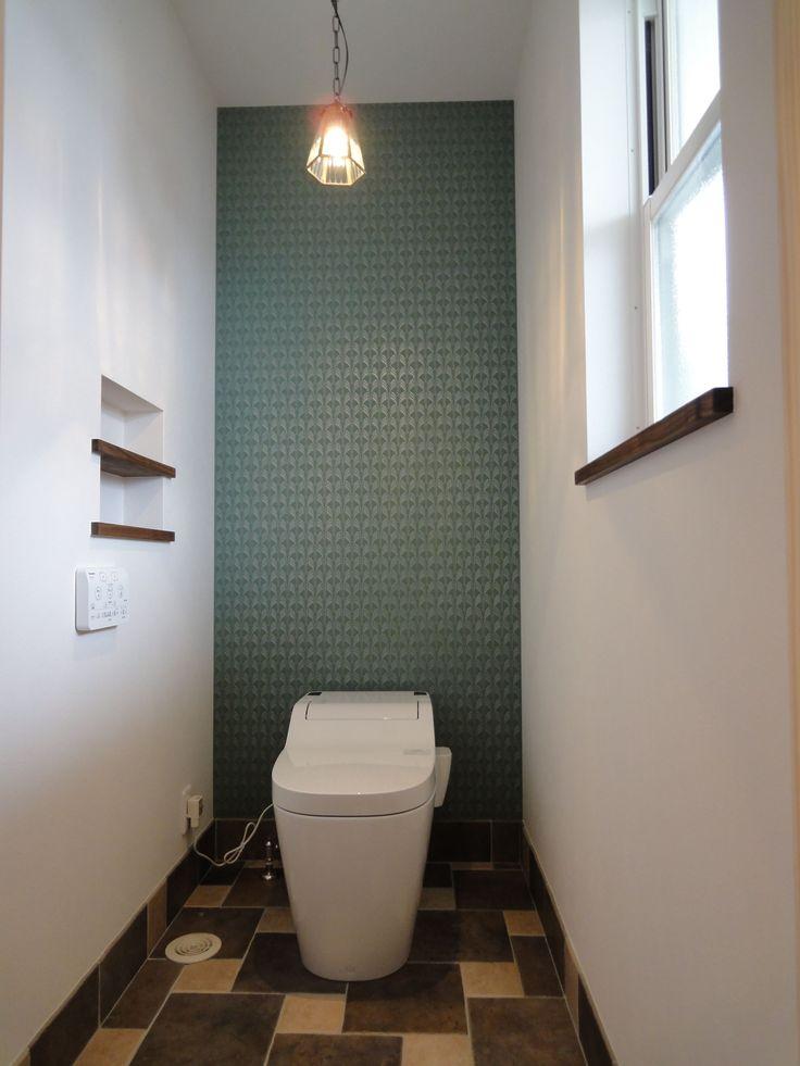 トイレの壁紙画像 - おしゃれなトイレコーディネート術8選!最高のくつろぎ空間に