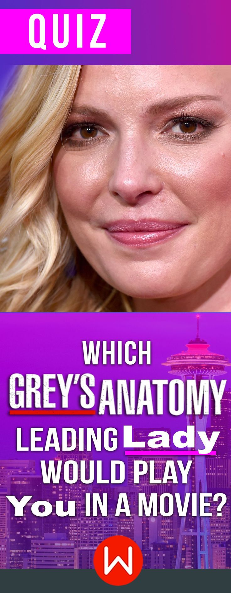 Casting call! Ever wonder which Grey's character would be cast as you in a movie? Grey's Anatomy Quiz. Which Grey's doctor is more like you? Personality quiz, Girl Quiz. Grey's Anatomy test. Shondaland, Izzie Stevens, Grey Sloan.