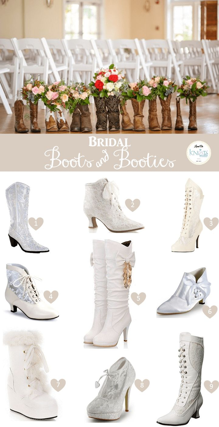 Bridal Boots and Booties