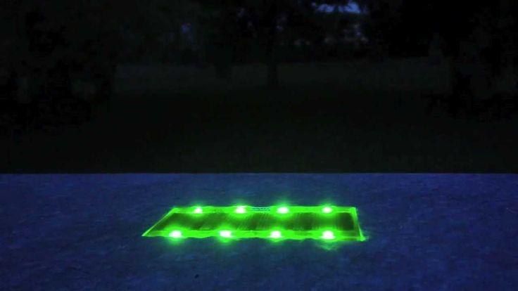 Luce Led a ricarica solare per il vostro giardino.