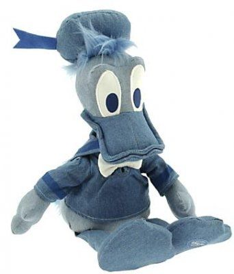 Donald Duck denim plush doll / soft toy from Fantasies Come True