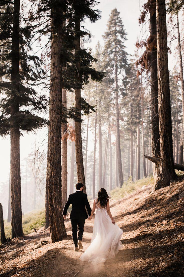 journey elopement in yosemite nationwide park