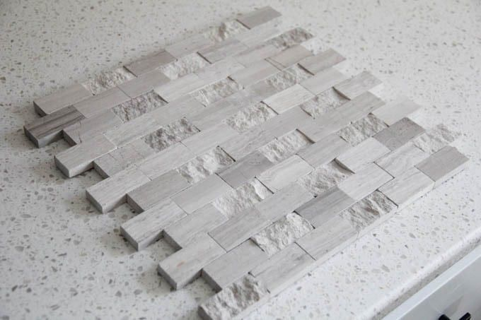 Lowe's Driftwood Natural Stone Mosaic Tile