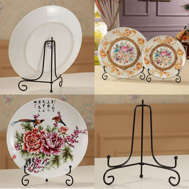 """4""""~12"""" Iron Easel Bowl Plate Art Photo Picture Frame Holder Book Display Stands #Unbranded"""