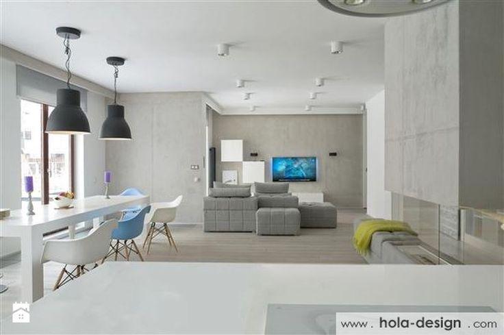 Mieszkanie w stylu industrialnym projektu Hola Design - Salon - Styl Industrialny - Le Pukka concept store