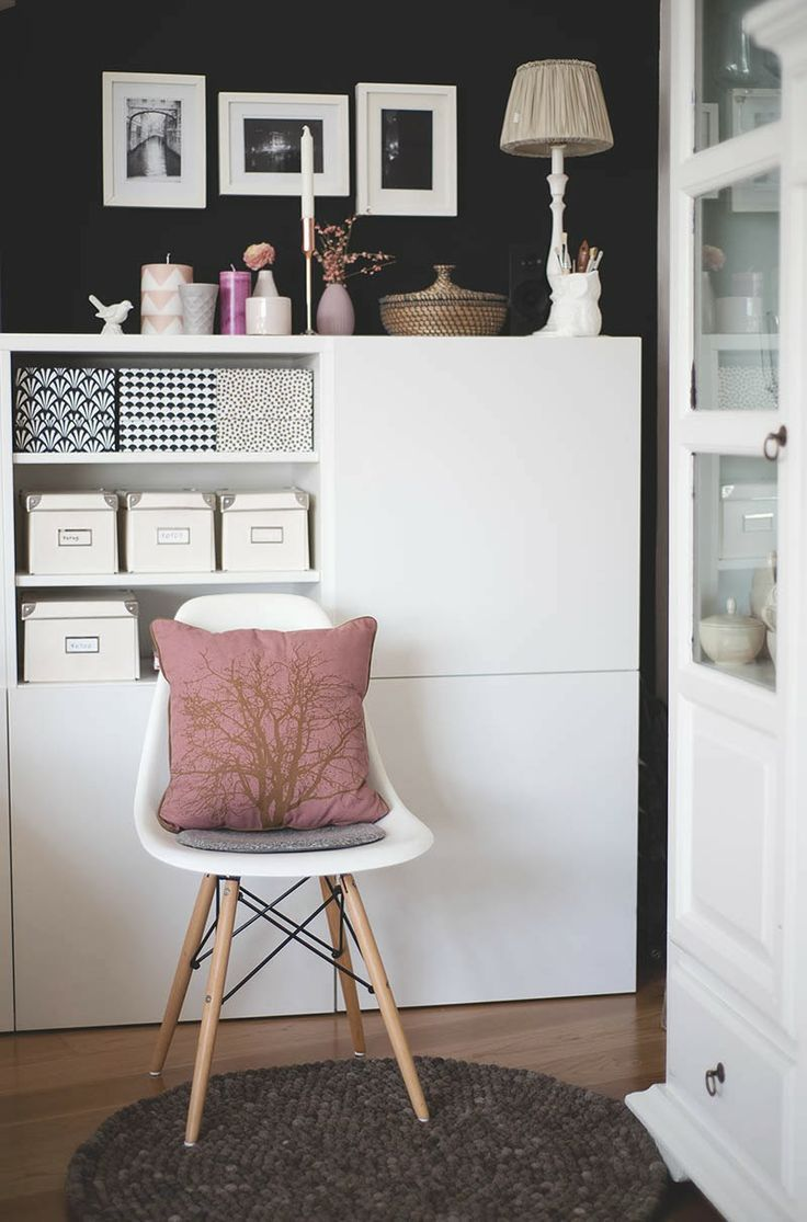 Hanging And Glowing IKEA Besta Storage For A Living Room   DigsDigs