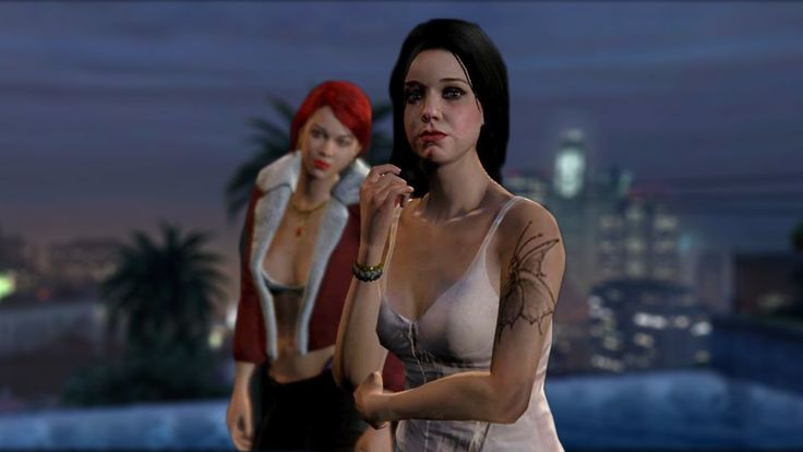 The XXI recently captured some soothing footage in Rockstar Games' PlayStation 4 version of Grand Theft Auto V (previously) that gives us a glimpse at the night life he experienced in the living, b...