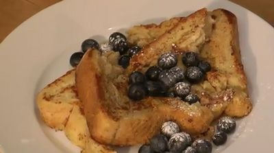 French Canadian Blueberry Toast