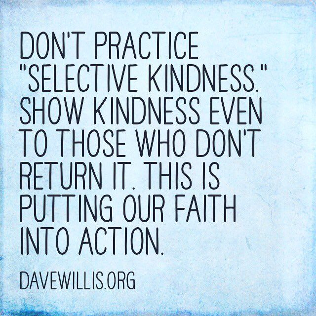"Be kind to everyone. The Savior's http://facebook.com/173301249409767 good example and inspired instructions to us are clear. ""Love your enemies, bless them, do good to them, and pray for them."" http://lds.org/scriptures/nt/matt/5.44#42 How do you respond when you are offended, misunderstood, unfairly treated, sinned against, made an offender for a word, falsely accused, passed over, or hurt by those you care for? The answer will determine the quality of your life. #LoveOthers #DoGood…"
